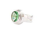 Step Bevel Green Quartz Ring Sterling Silver