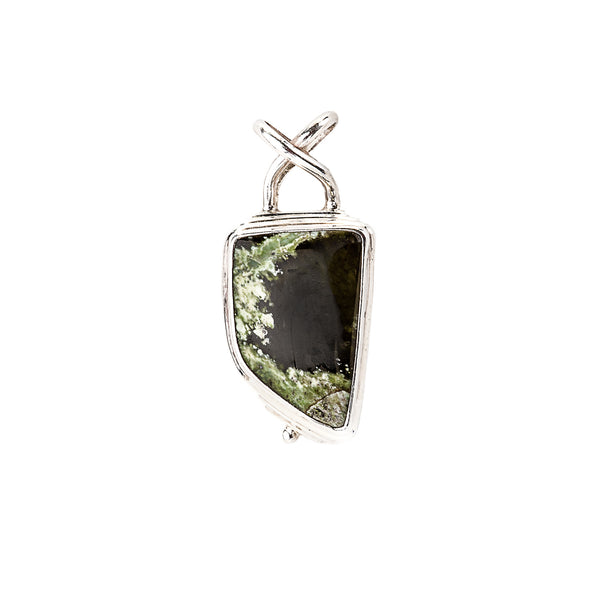 Seraphinite Pendant set in Sterling Silver