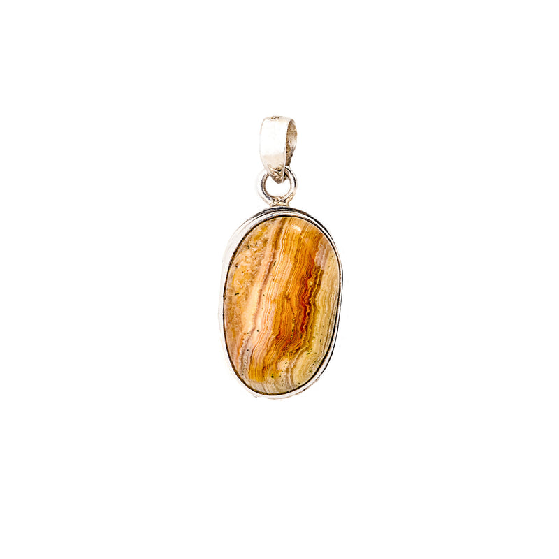 Jasper Pendant set in Sterling Silver
