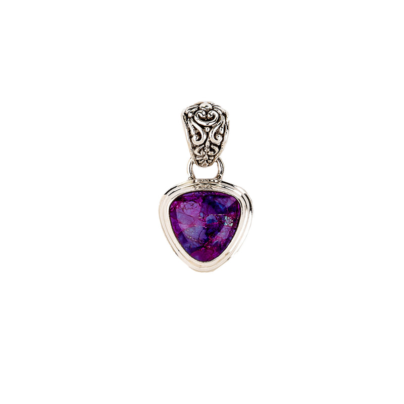 Mohave Purple Turquoise Pendant