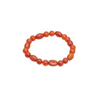 Red-Brown Agate Fashion Bracelet