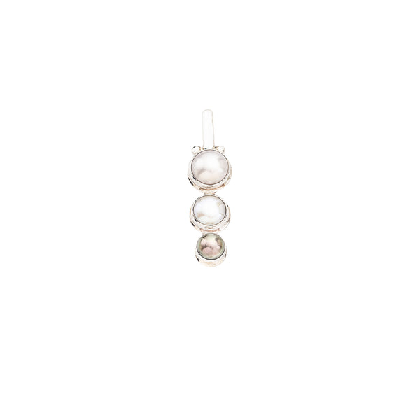 Triple Pearl Drop Pendant