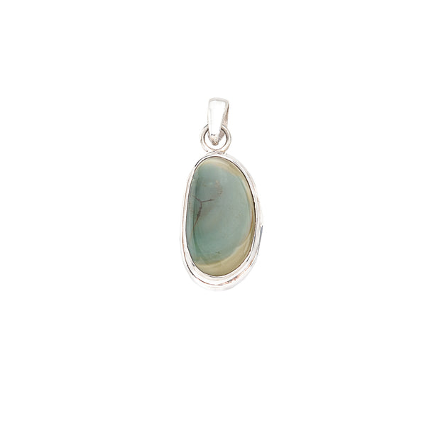 Agate Pendant in Sterling Silver