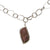 Brecciated Jasper Pendant Large Link Necklace