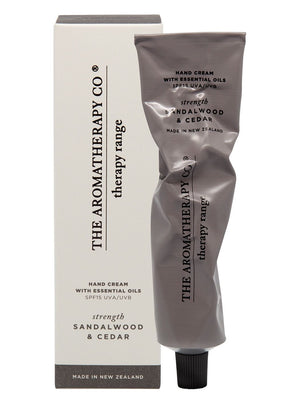 Therapy Hand Cream SPF15 75ML - Strength Sandlewood & Cedar