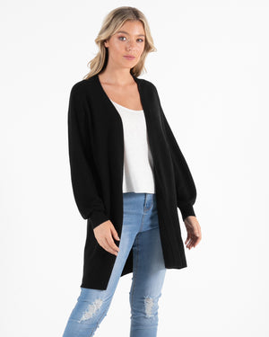 Sass  - Elesbeth Cardigan Black