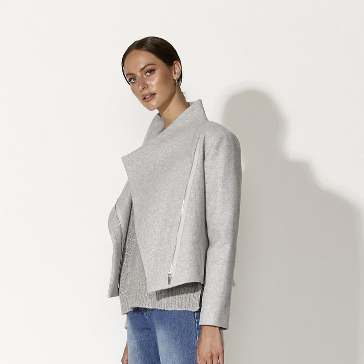Heart of Glass Jacket GREY MARLE