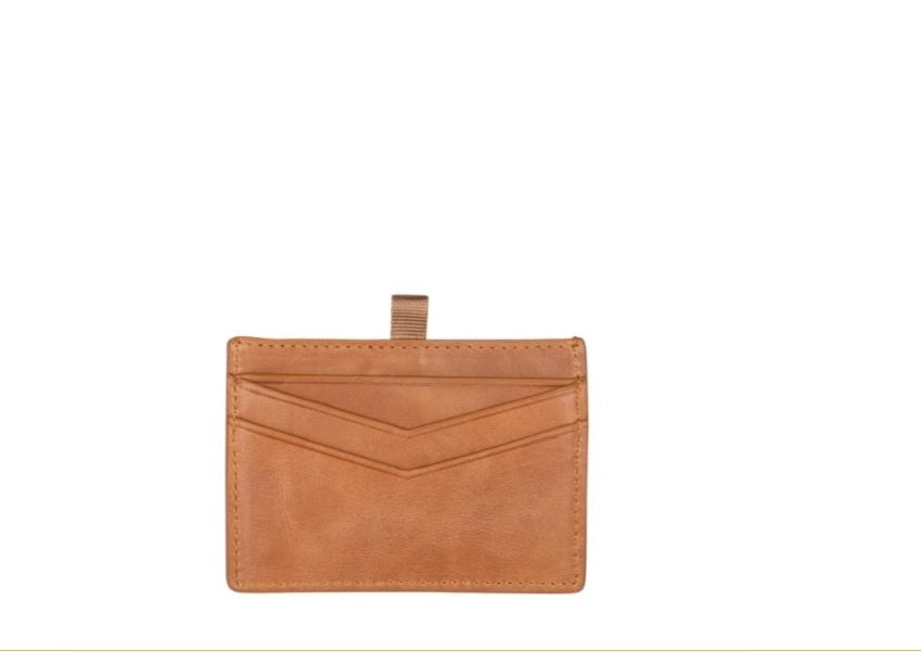 Alexis Card Holder // Vintage Tan