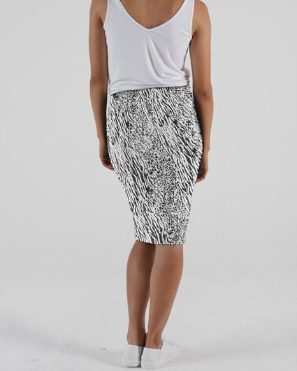 Betty Basics // Alicia Midi Skirt // Instinct