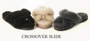 Ugg Slides Crossover // Natural