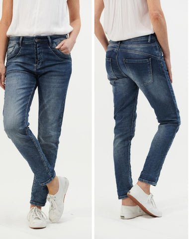 Italian Star Jeans // Pocket Trim Jeans