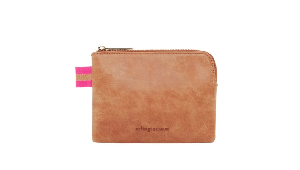 Arlington Milne - Paige Coin Purse // Vintage Tan
