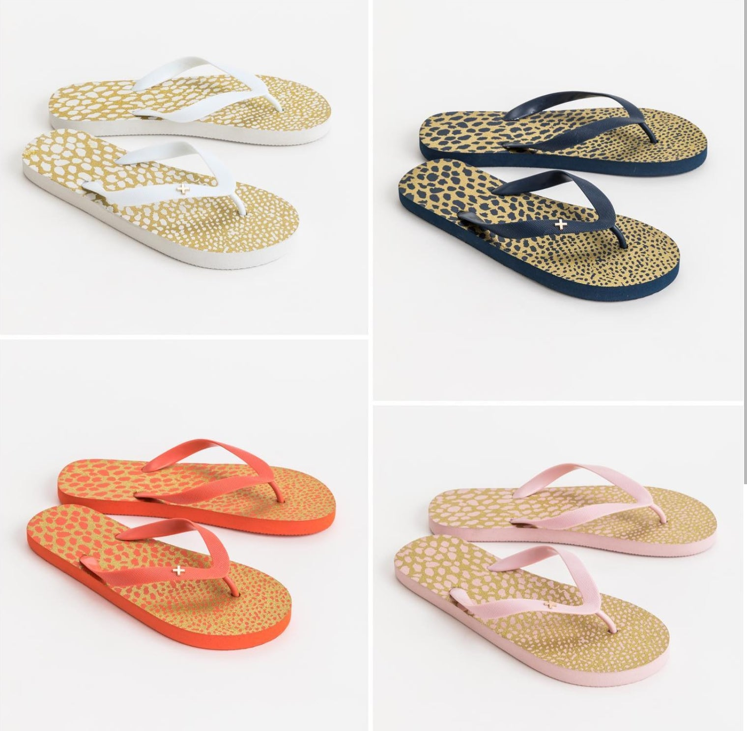 Stella and Gemma // CANDY JEWEL FLIP FLOPS
