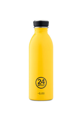 24 Bottles Stainless Steel Drink bottle 500ml // Taxi Yellow