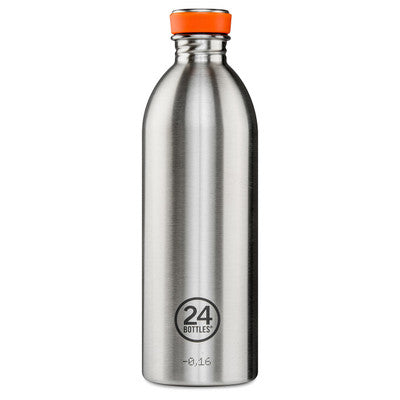 24 Bottles Stainless Steel Drink Urban bottle  1000ml //  Steel