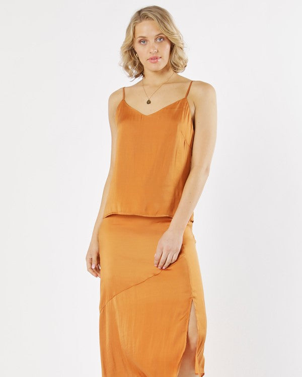 Fate and Becker // Sunset Boulevard Camisole  // Apricot //