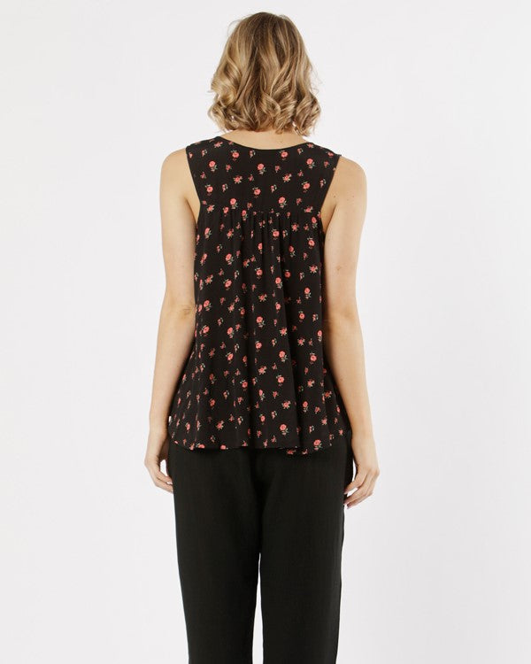 Fate and Becker // Sweet Like Honey Top // Desert Floral Print //