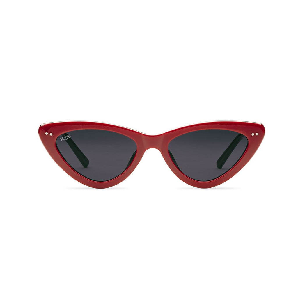 Kapten & Son Sunglasses // Waikki by LeGer Gloss Red