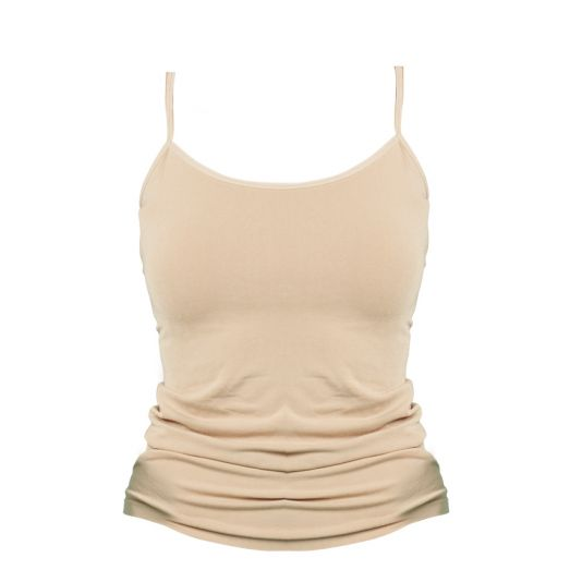 Bamboozld   // Womans Underwear Camisole // Nude