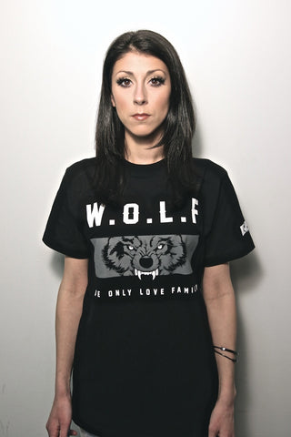 W.O.L.F T-Shirt - BLACKOUT