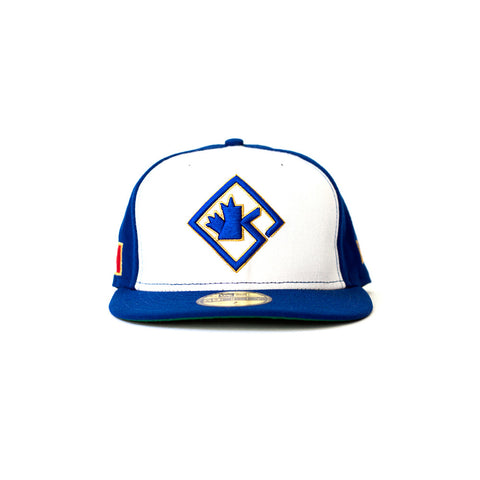 Blue Diamond Fitted