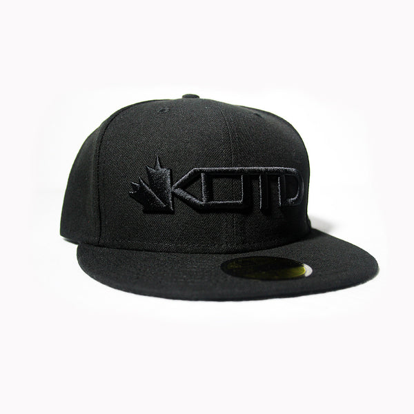 KOTD NewEra - Blackout - Fitted Cap (Limited Edition) + Blackout T-Shirt