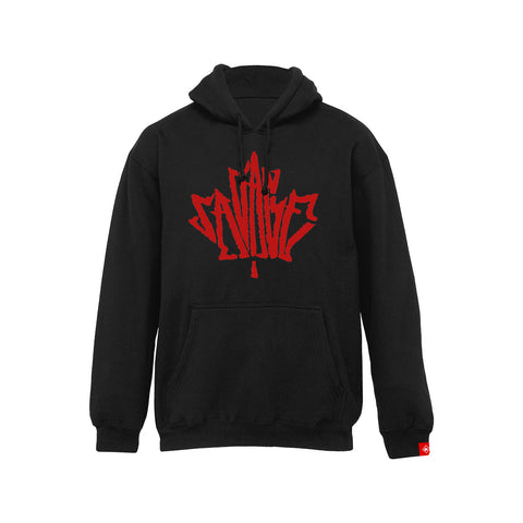 Canadian Savage - Black Pullover (Charron)
