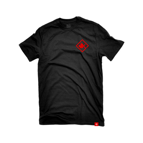 Diamond - Black & Red T-Shirt