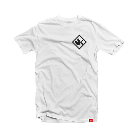 White Newschool T-Shirt