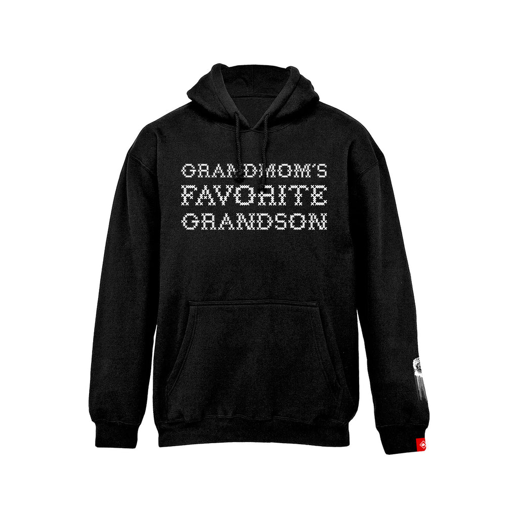 Grandmom's Favorite Grandson - Pullover (Black)