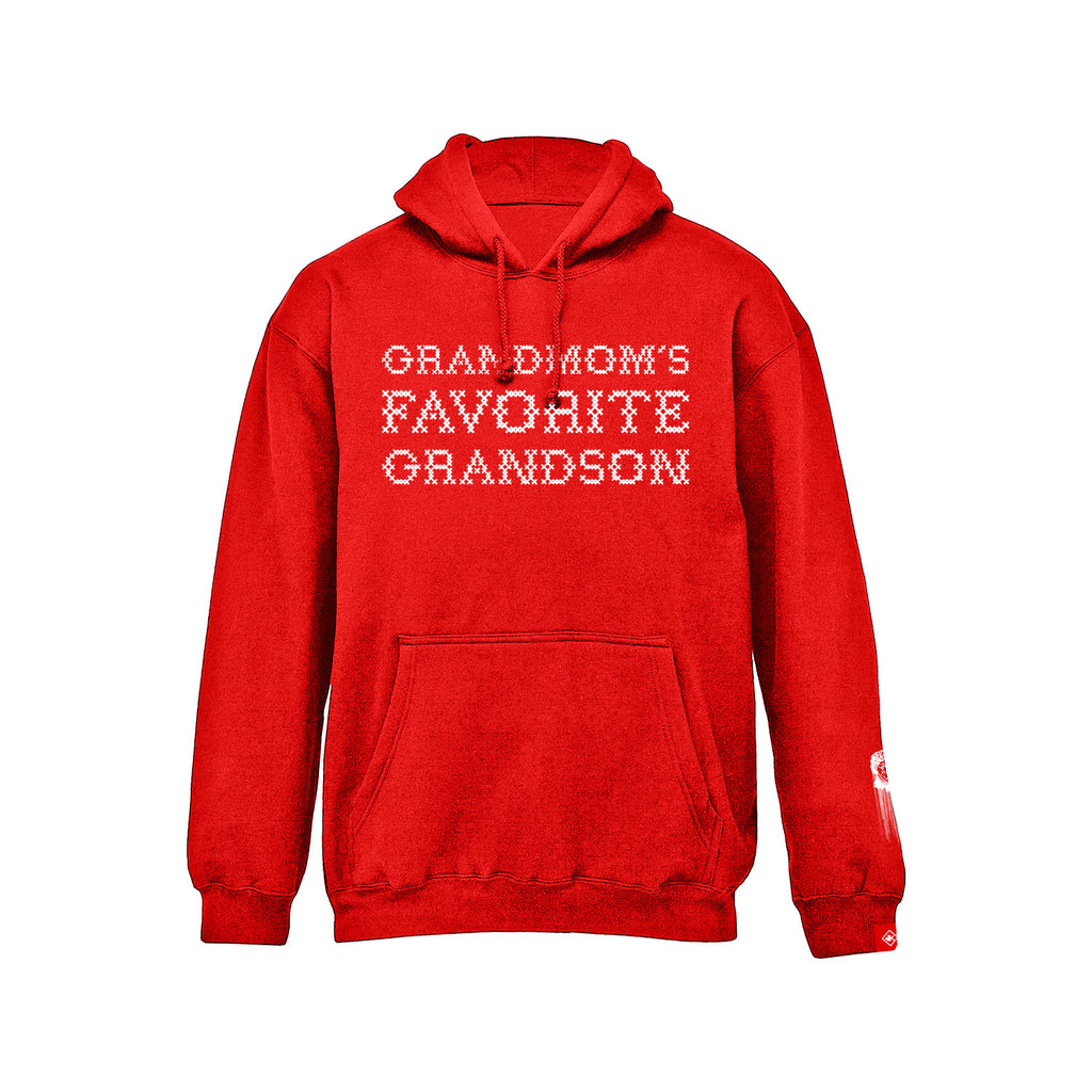 Grandmom's Favorite Grandson - Pullover (Red)