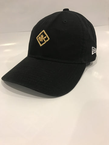 Black & Gold Dad cap