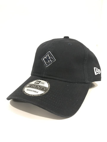 Navy Blue & White Dad cap