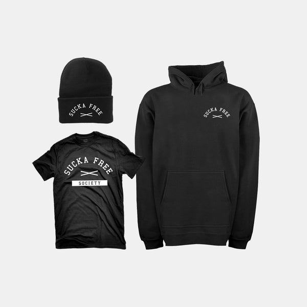 Sucka Free Package - Toque, T-shirt & Hoodie - Pat Stay