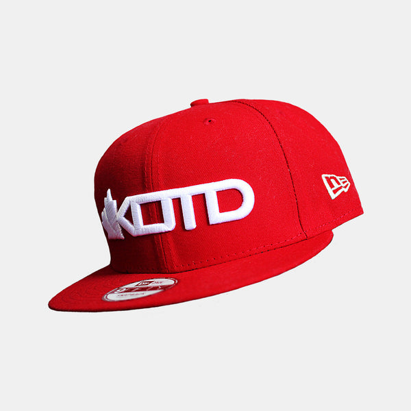 KOTD staff New Era Red Fitted with 1 T-Shirt