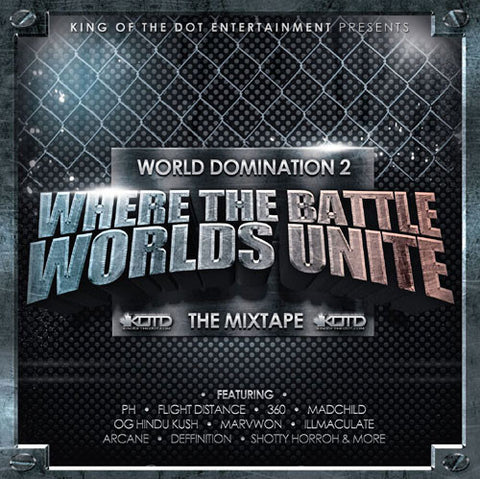 KOTD Mixtape Vol 2 - World Domination 2