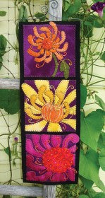 Wooly Lady Close-Up Chrysanthemum Wall Hanging Kit
