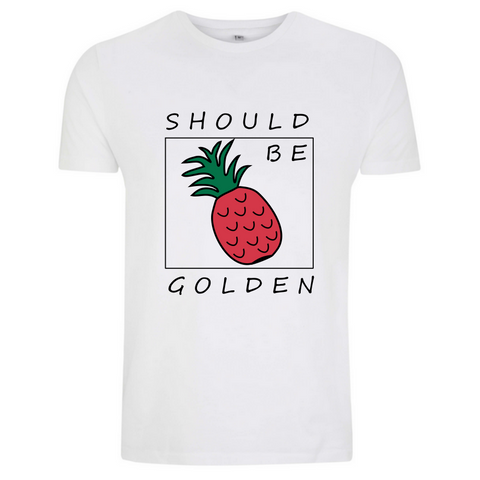 Should Be Golden weises sommer t-shirt