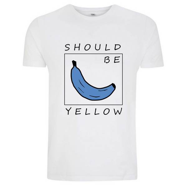 Klassiker Should Be Yellow Sommer 2019 faires T-Shirt