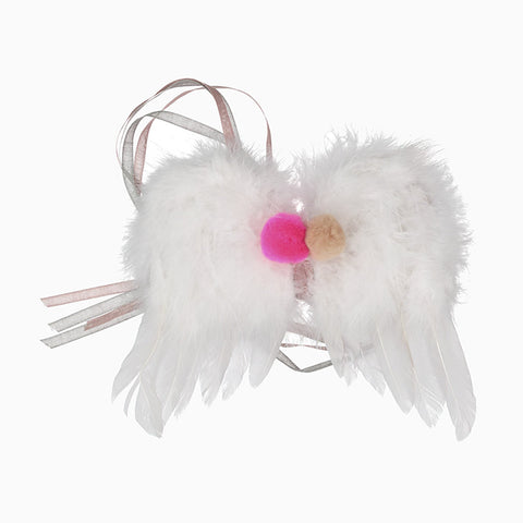 mini angel wings (white)