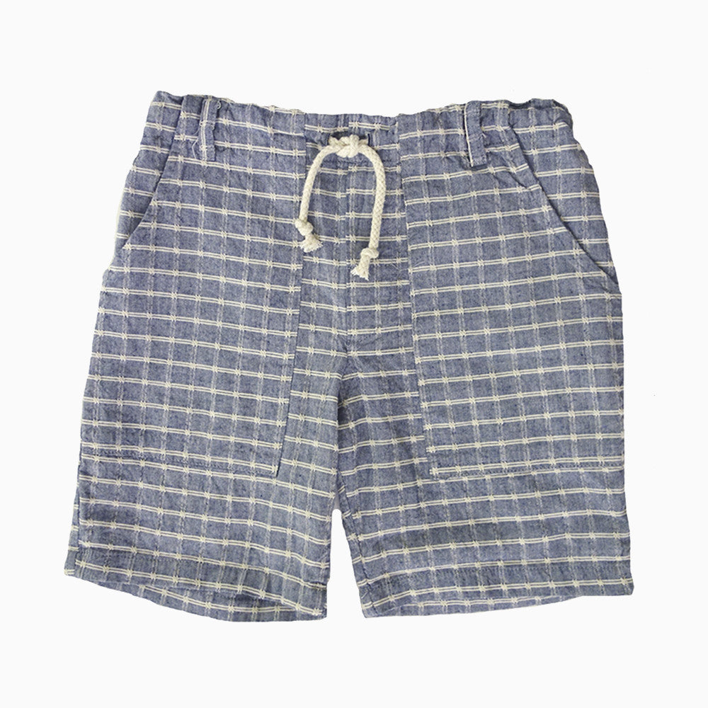 barrel short (chambray)