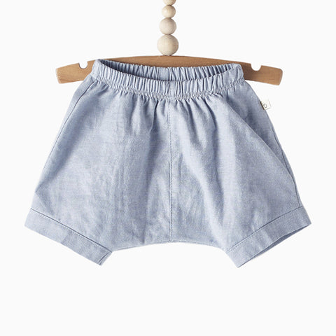 shorts (blue oxford)