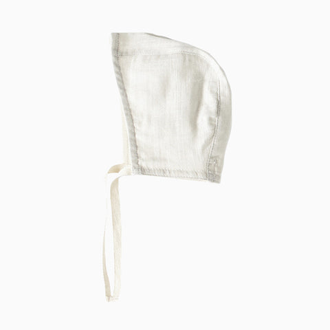 infant bonnet (dove grey)