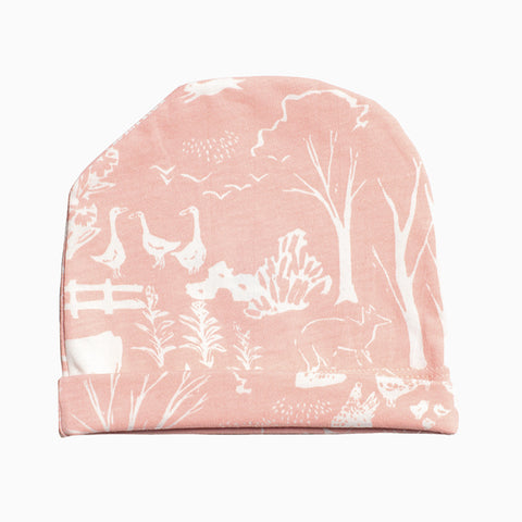 baby hat (the farm next store blush pink)