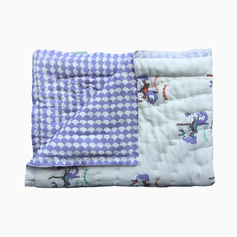 quilted cotton blanket