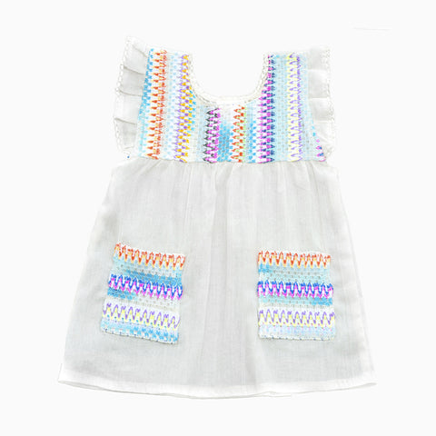 zig zag dress (natural)