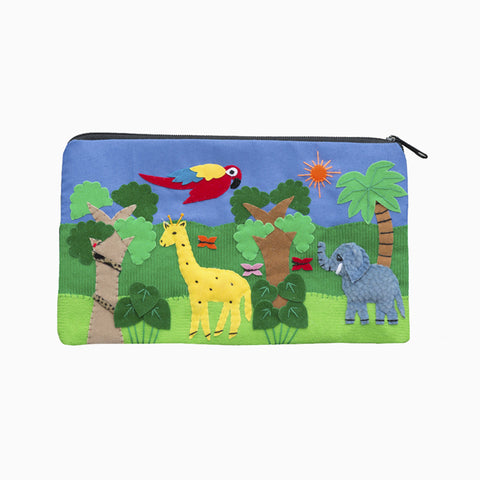 cut out purse (safari)