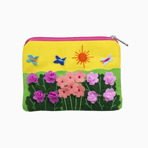 cut out purse (flowers)