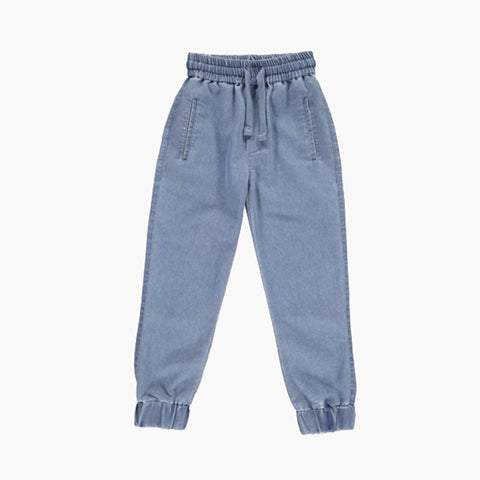 denim sweatpant (chambray)