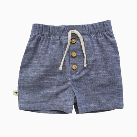 shorts (downtown chambray)